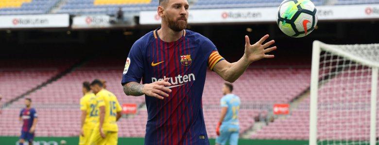 ميسي يعادل رقم ريال مدريد