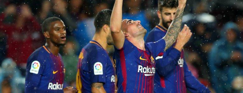 هل حسم برشلونة الليجا