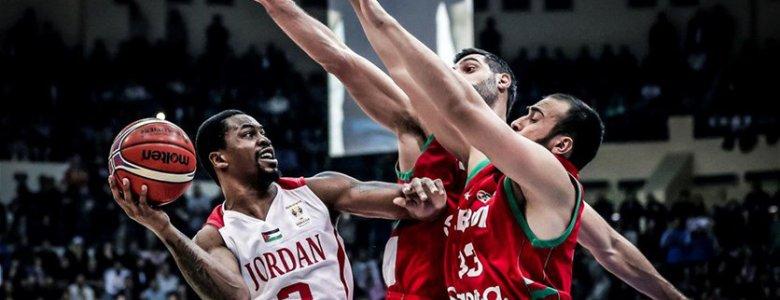 الاردن يتصدر مجموعته بعد فوزه على لبنان في تصفيات كأس العالم لكرة السلة