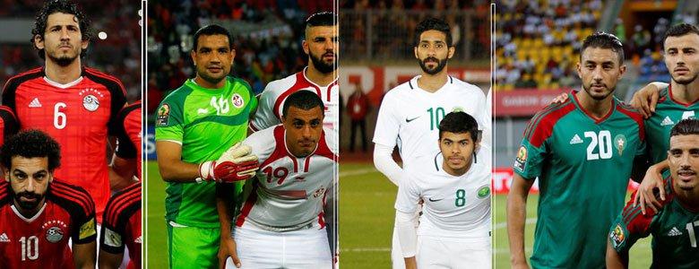 عرب المونديال: أعين تترقب وآمال تتجدد..