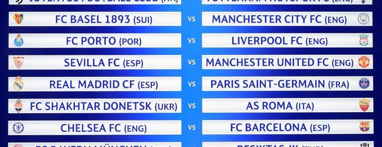 نظرة علي .. مواجهات دور الـ16 من دوري أبطال أوروبـــا