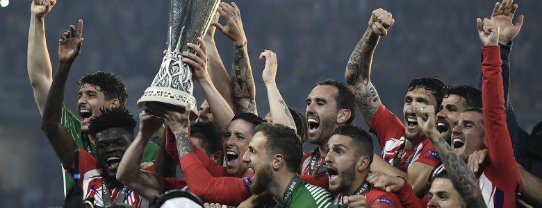 أتلتيكو مدريد يزأر في معقل الأسود و يعادل رقم إشبيلية القياسي كأكثر من توج بالدوري الأوروبي ..