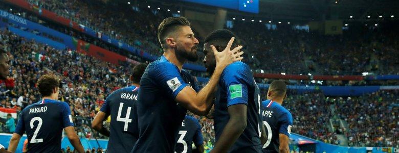 فرنسا تعبر إلى النهائي وتضع حداً لجموح بلجيكا