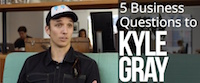 Watch the video with Kyle Gray