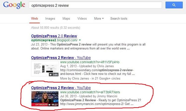 check youtube ranking