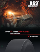 Yokohama OTR R69 Radial Tire HIGHER SPEEDS, HEAVIER LOADS, LESS DOWNTIME