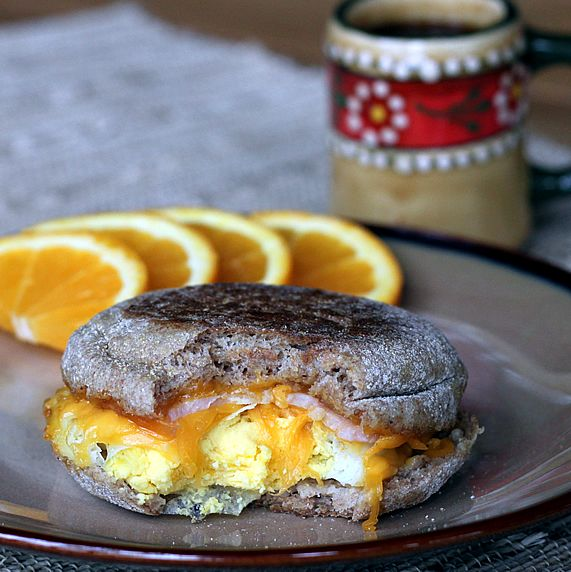 Make Ahead Healthy Egg Mcmuffin Copycats