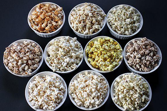 10 Healthy Microwave Popcorn Recipes
