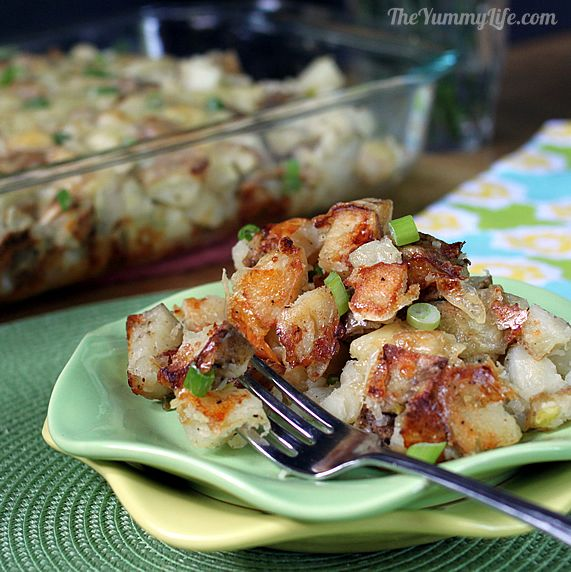 Rustic Twice Baked Potato Casserole