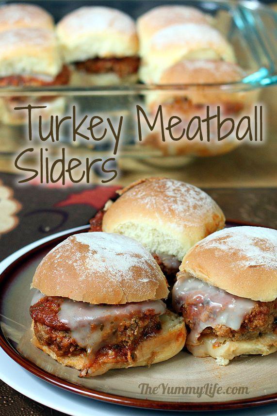 Turkey Meatball Sliders
