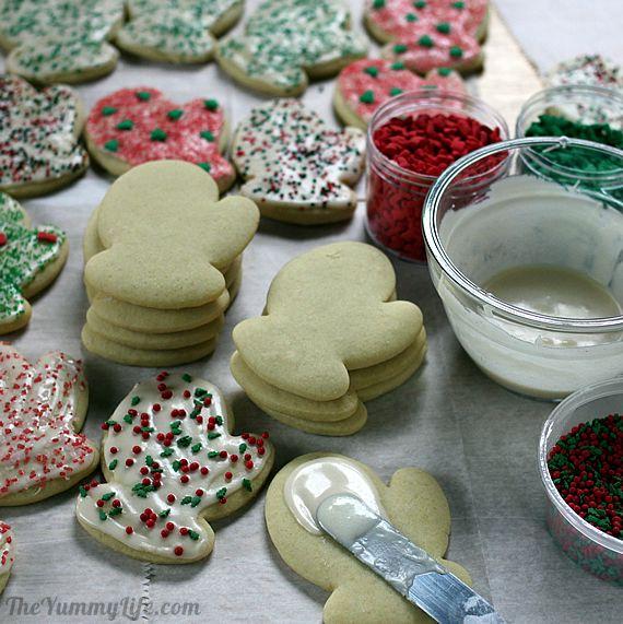 Cut Out Sour Cream Sugar Cookies