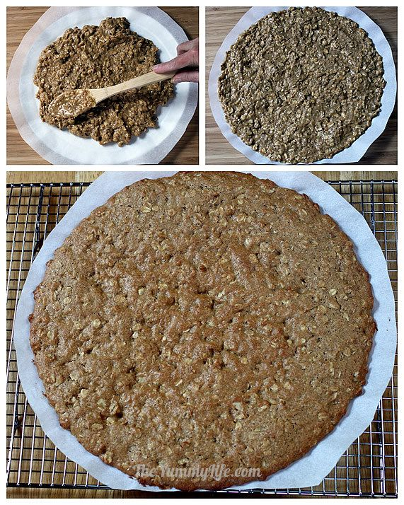 Fruit Pizza Oatmeal Crust