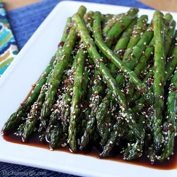 Asian asparagus recipe