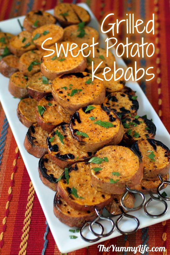Grilled Sweet Potato Kebabs