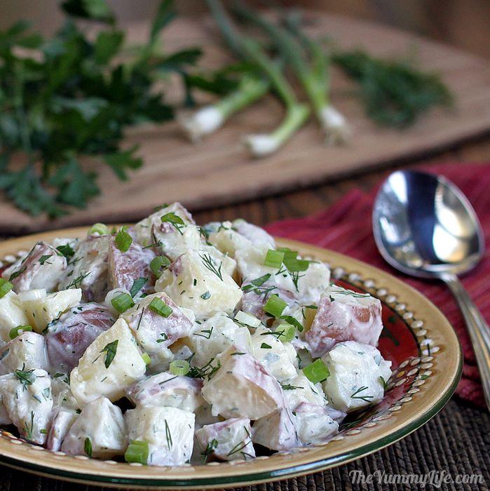 Potato Salad Recipe Healthy Yogurt