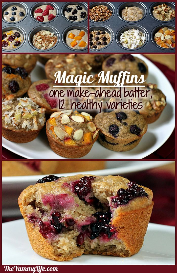 Make Ahead Magic Muffins