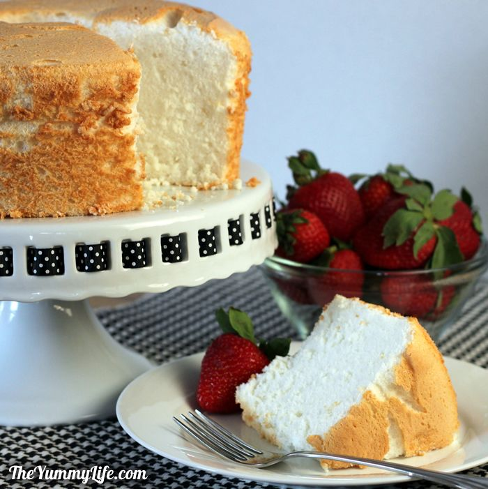 Heavenly angel food cake heavenly angel food cake light as a cloud and an all forumfinder Gallery