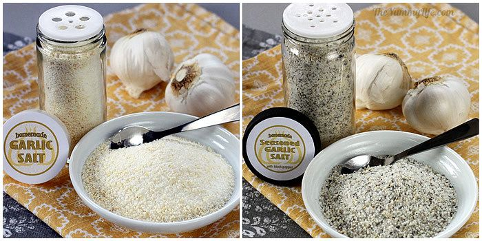 Homemade Garlic Salt