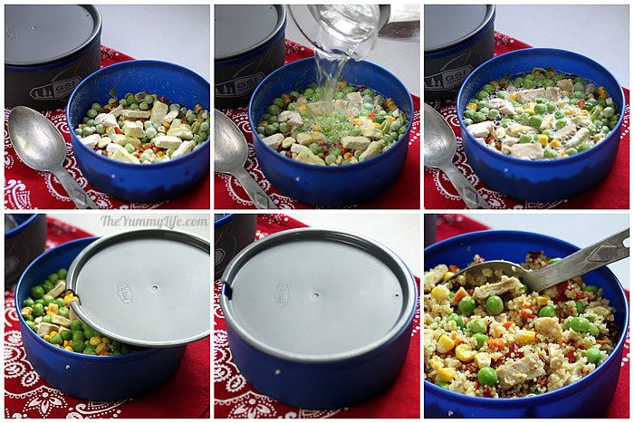 6 instant meals on the go just add boiling water 6 instant meals on the go nutritious and easy for backpacking forumfinder Gallery