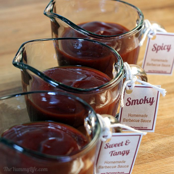 3 Barbecue Sauce Recipes Sweet Spicy Smoky