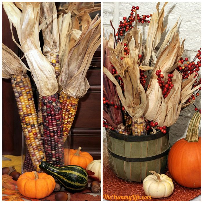 Decorating with Indian Corn