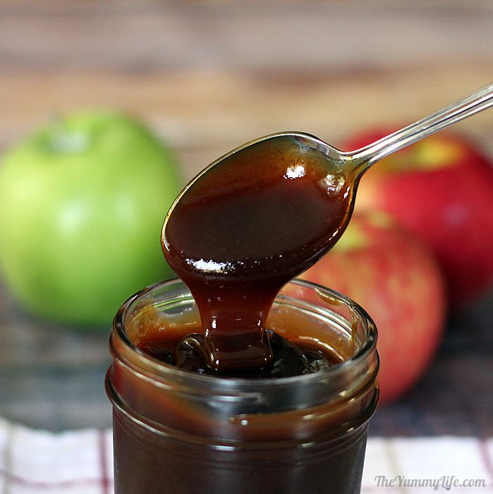 Apple cider syrup molasses no added sugar easy apple cider syrup with no added sugar stove top or slow cooker a ccuart Image collections