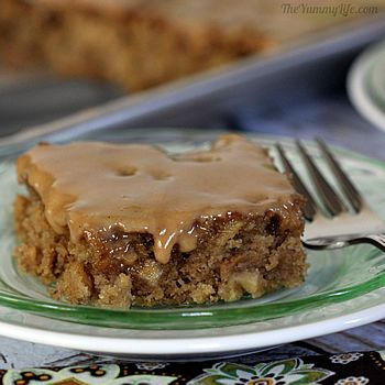 Gooey Whole Wheat Apple Bars