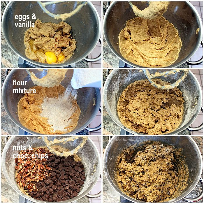 Whole Grain Chocolate Chip Cookie Bars A Healthier Recipe Makeover Using Wheat Flour And Step 8