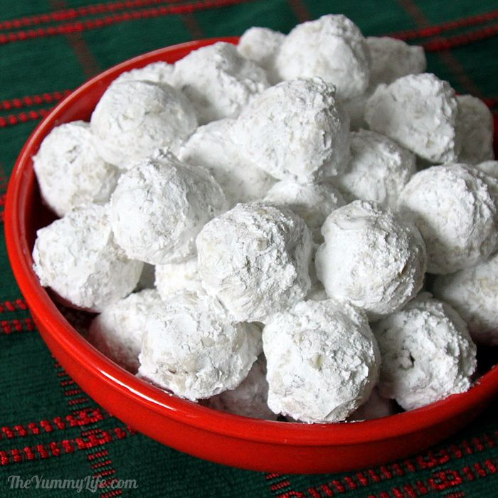 Traditional Snowball Cookies
