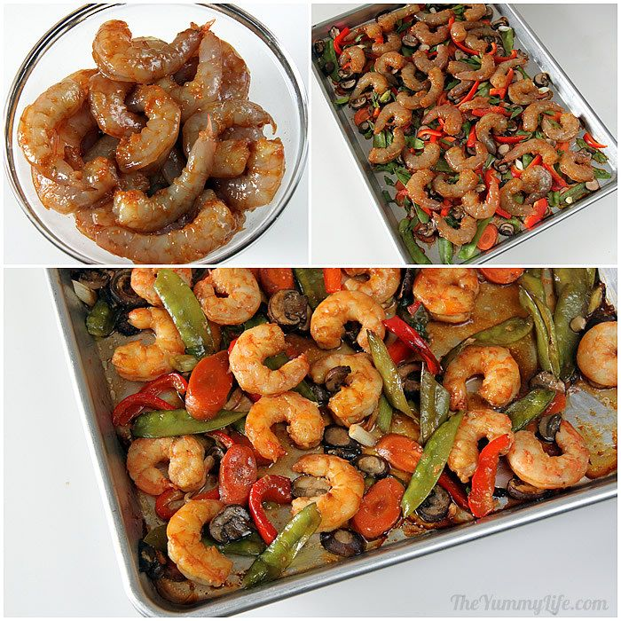 Easy oven baked sheet pan asian stir fry skip the wok and make this easy oven baked sheet pan recipe with traditional forumfinder Image collections