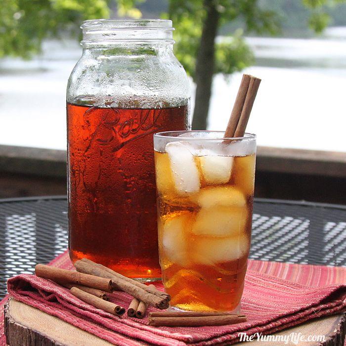 Cinnamon And Spice Refrigerator Iced Tea