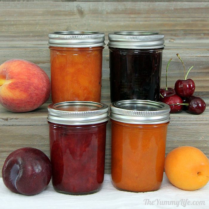 Peach jam recipe with no pectin besto blog for Peach preserves no pectin