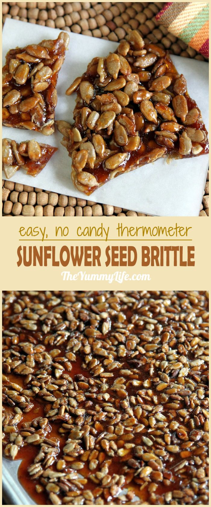 Easy Sunflower Seed Brittle