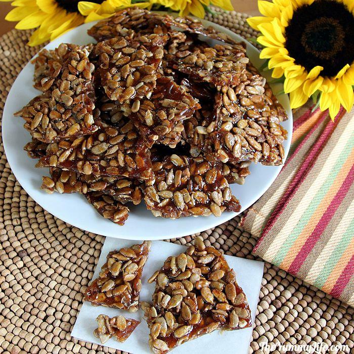 Easy Sunflower Seed Brittle