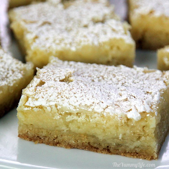 Gooey Bars Yellow Cake Mix