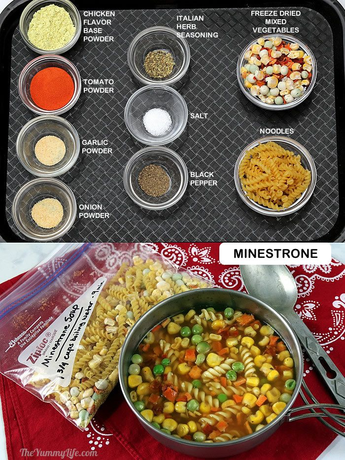 8 instant dry soup mixes just add boiling water just add boiling water for 8 instant nutritious soups that are perfect for backpacking forumfinder