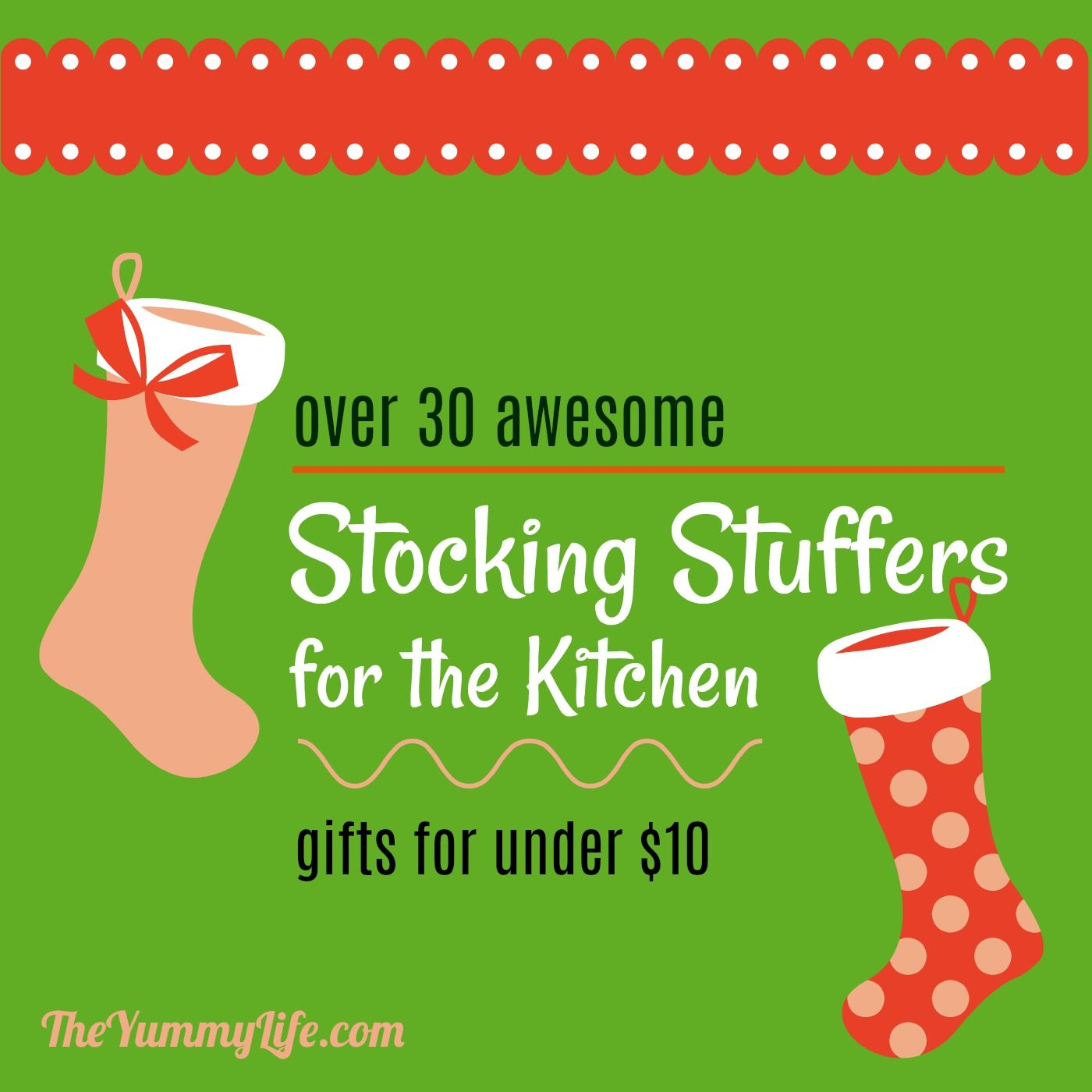 30 Best Stocking Stuffers  All Under $10! These Are Unique Kitchen Gadgets  That