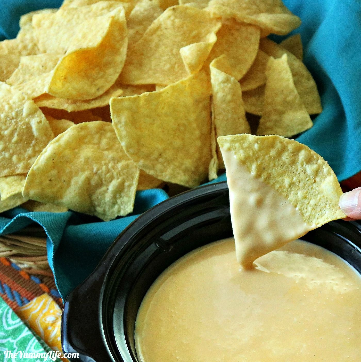 Queso Dip And Nacho Sauce