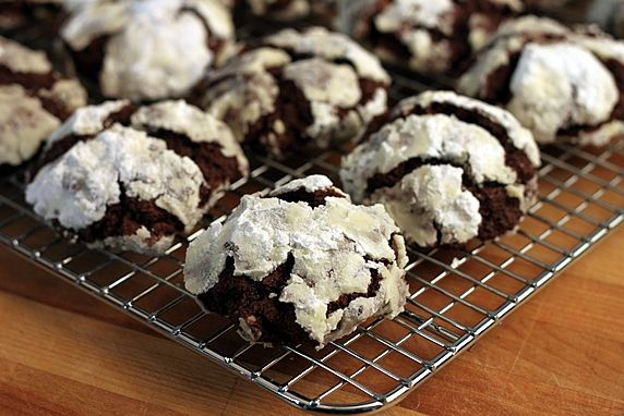 These rich cookies will send chocolate lovers straight to chocolate heaven.