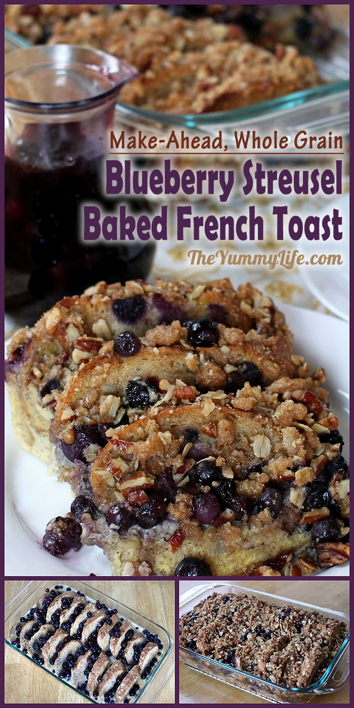 This delicious make-ahead breakfast is easy to assemble the day before and have ready to cook when you get up in the morning. It's perfect for brunch or overnight guests. From TheYummyLife.com