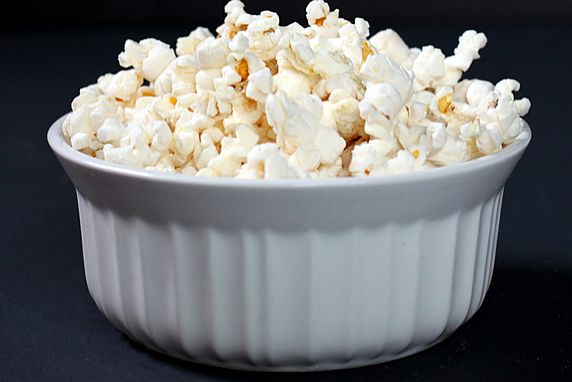 Healthy Microwavable Popcorn, Healthy Junk Food