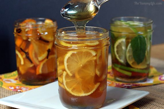 Use these syrups to soothe a cough or sore throat; or stir them into hot tea or water to add yummy flavor.