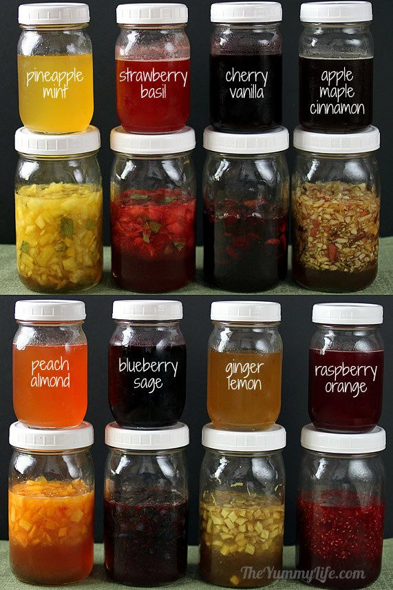 Natural fruit herb honey syrups for Easy fruit tea recipe
