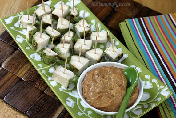 An easy, flavorful, healthy appetizer or snack.