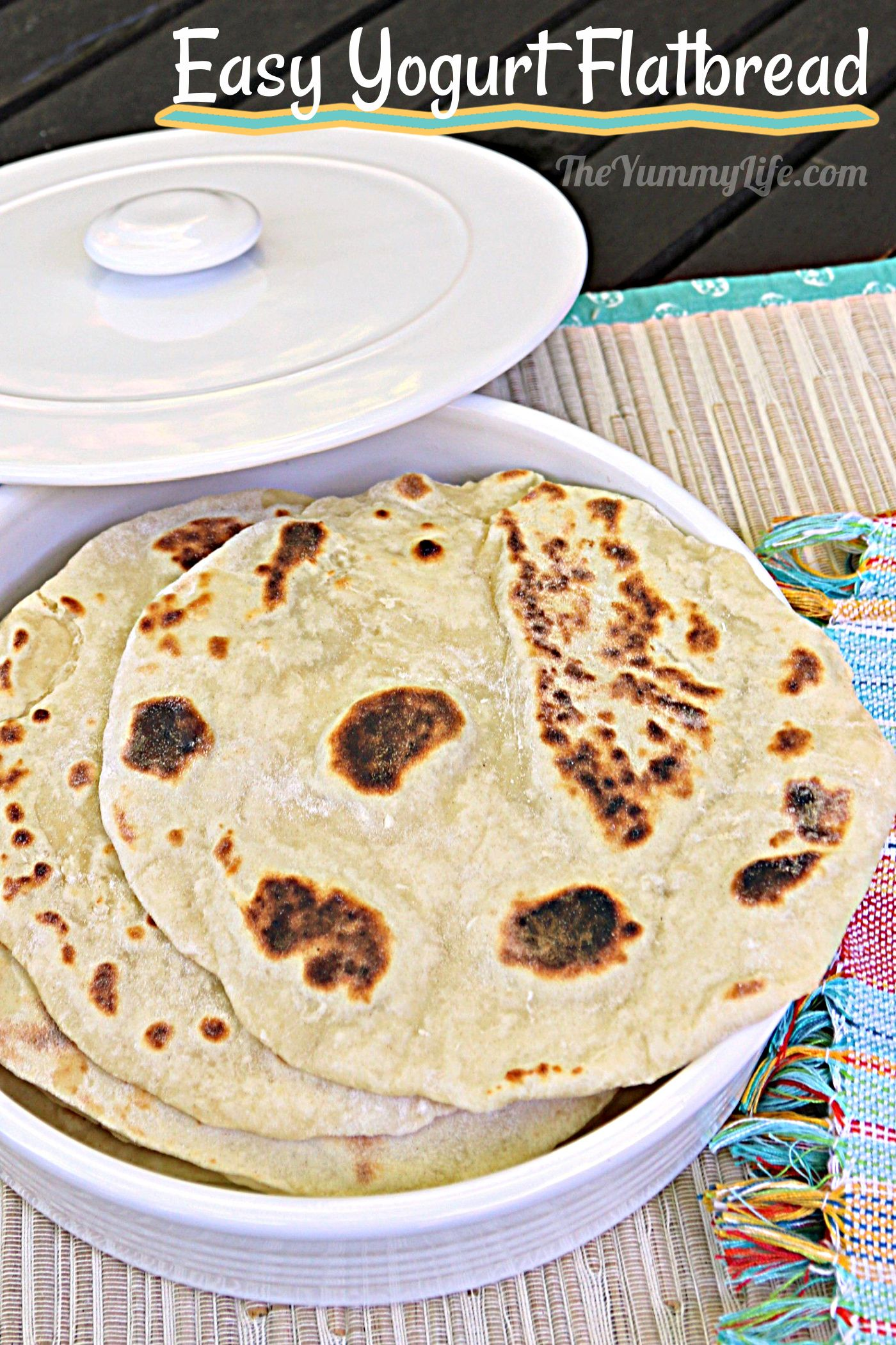 This India-inspired flatbread is so easy and versatile with make-ahead convenience. Serve it with soups, dips and spreads, or any meal. Great to use as a wrap or tortilla, too.