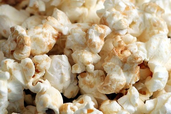This is an easy way to make a delicious, lightly sweet and salty kettle corn. Warning: it's addictive!