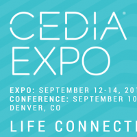 CEDIA EXPO, 12 - 14 September 2019