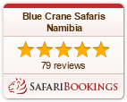Reviews about Blue Crane Safaris Namibia