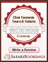 Reviews about Chui Tanzania Tours & Safaris