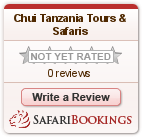 Reviews about Chui Tanzania Tours & Safaris